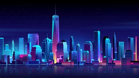 80s Neon City Wallpaper by Neon City Wallpapers Wallpaper Cave