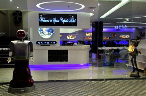 spend  night   space hotel  china   served