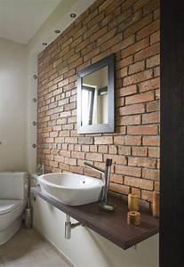 Mur En Brique De Verre Salle De Bain : 17 meilleures id es propos de salle de bains brique sur ~ Dailycaller-alerts.com Idées de Décoration
