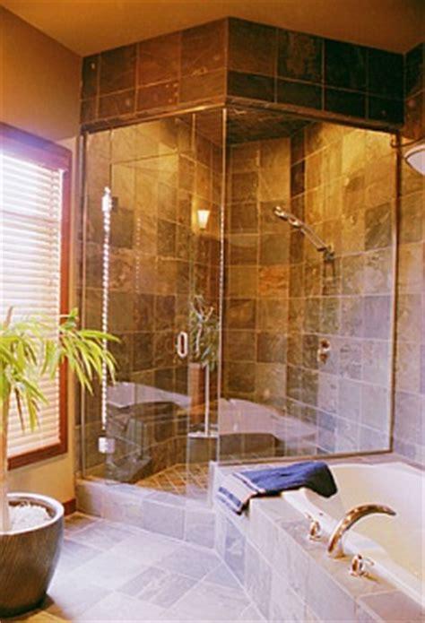 ceramic tile shower installation bellevue contractor