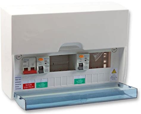 plastic metal ammendment 3 17th edition consumer unit 10 mcbs rcbos wylex garage ebay