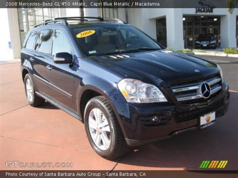 The gl450 and gl320 cdi are equipped identically, save for their powertrains. Capri Blue Metallic - 2008 Mercedes-Benz GL 450 4Matic ...