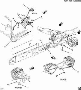 2002 Chevrolet Avalanche Brake Replacement System Diagram