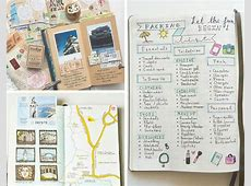 10 DIY Travel Journal Ideas to Keep Your Travelling