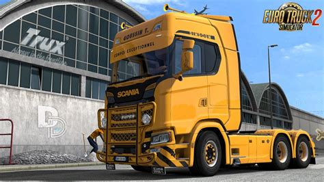 lightbox daf xf 105 scs and 50keda 1 21 187 download ets 2 mods truck mods euro truck