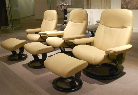 Stressless Diplomat Recliner Sale by Stressless Ambassador Large Consul Batick Latte Leather By