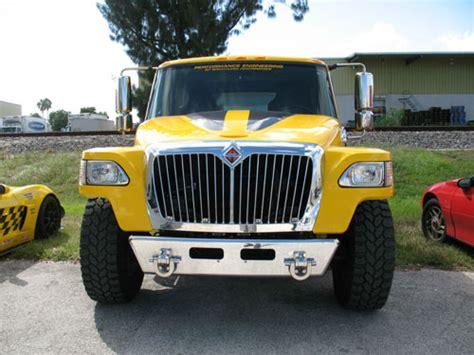 International Mxt Pickup Badest Truck In The World