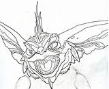 Gremlins Gremlin Coloring Pages Deviantart Sketch Britt Gizmo Printable Draw Spike Template Sketches Finger Mouse Computer Sheets Movie Tattoo Christmas sketch template