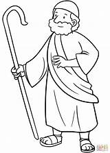 Coloring Moses Printable Drawing Paper Dot Crafts Puzzle sketch template