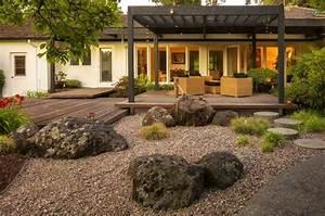 Petit Jardin Moderne : petit jardin japonais 100 id es pour am nager un ext rieur d 39 ambiance zen et moderne ~ Dode.kayakingforconservation.com Idées de Décoration
