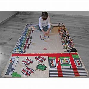 Tapis Jeu Enfant : tapis de jeu le basket pour chambre d 39 enfant par tapitom ~ Teatrodelosmanantiales.com Idées de Décoration