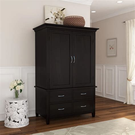 Large Wardrobe With Drawers by Magaluf Rustic Solid Wood Large Bedroom Armoire Wardrobe