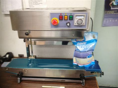 fr  vertical horizontal stainless steel continuous band sealer machine ebay