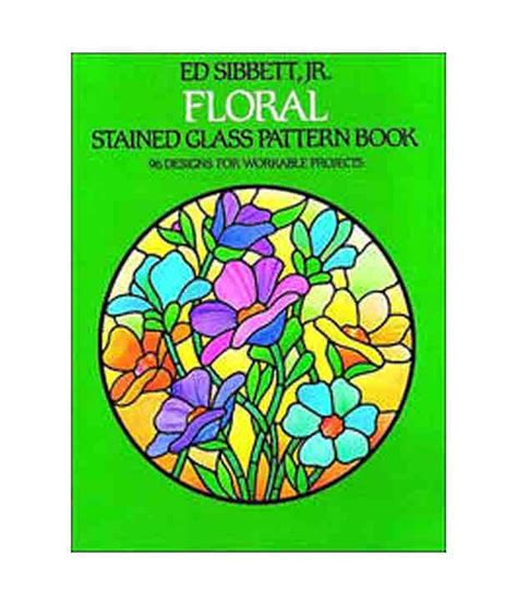 Floral Stained Glass Pattern Book floral stained glass pattern book buy floral stained
