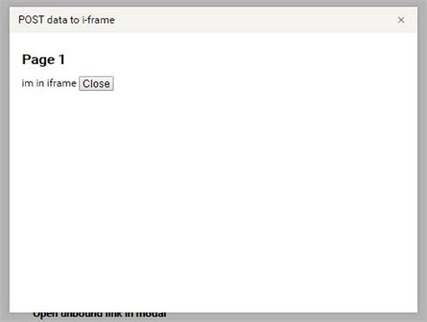 jquery mobile iframe responsive link triggered modal plugin with jquery