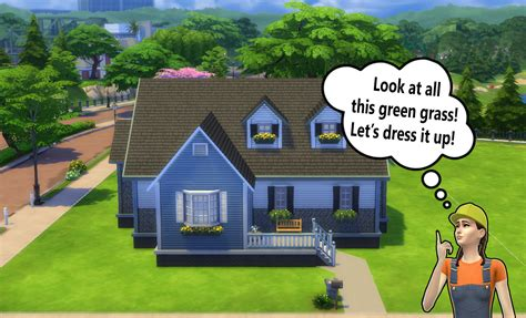 building  beginners   sims  landscaping