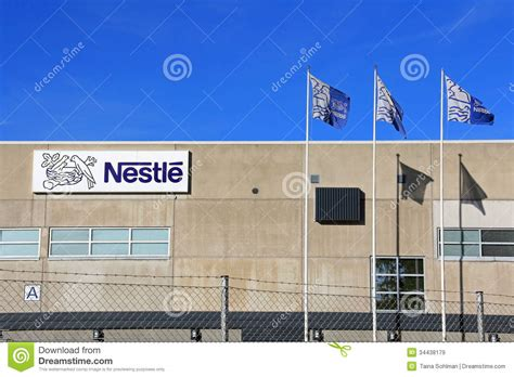 Nestle Factory In Turku, Finland Editorial Stock Image   Image: 34438179