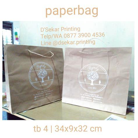 Jual Kain Spunbond Cibinong jasa cetak tas kertas paperbag murah cetak sablon