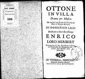 Ottone in villa, RV 729 (Vivaldi, Antonio) - IMSLP ...