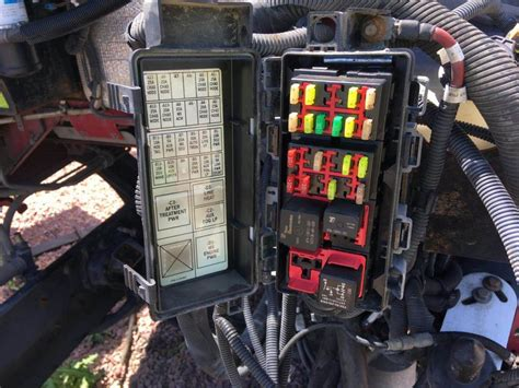 2011 Kenworth Fuse Box by Wrg 4671 T660 Fuse Box