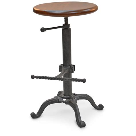 bistro bar stool adjustable height 663310 kitchen