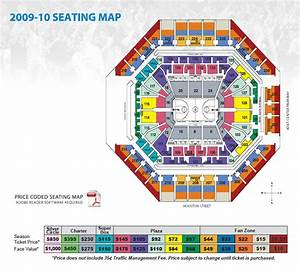 At T Center Seating Map San Antonio Spurs