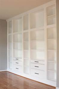 Ikea Hemnes Hack : ikea hack built in using hemnes bookcases ikea hacks pinterest hemnes ikea hack and built ins ~ Indierocktalk.com Haus und Dekorationen