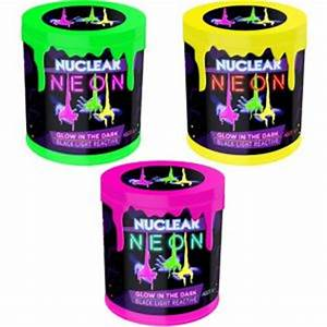 Nuclear Neon Slime 4 23oz Party City