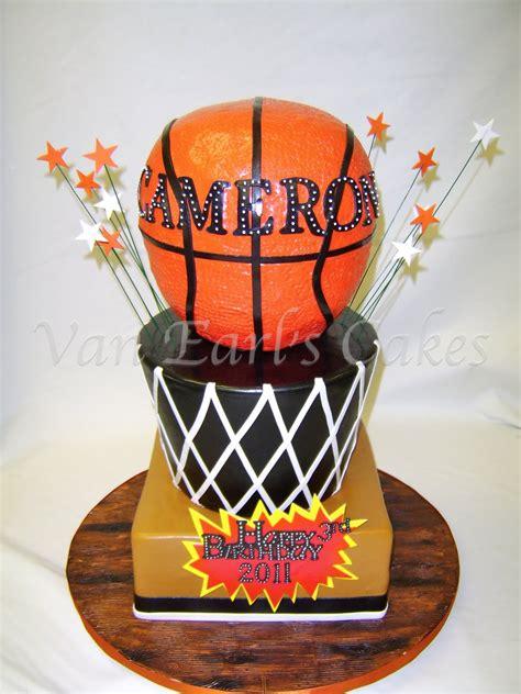 van earls cakes basketball birthday cake