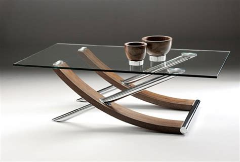 modern glass dining table set glass top coffee table curved glass top rectangular