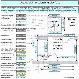 Calcul Escalier Quart Tournant : calcul d 39 un escalier en colimacon ~ Melissatoandfro.com Idées de Décoration