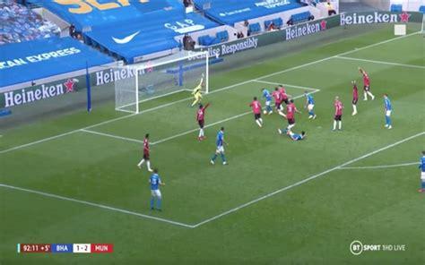 Video: De Gea's superb late save for Man United vs Brighton