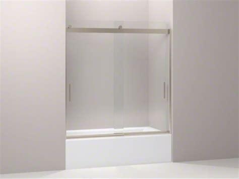 Kohler Glass Shower Door - kohler levity r front sliding glass panel for shower door