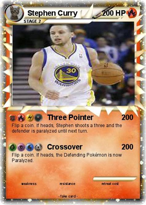 Maybe you would like to learn more about one of these? Pokémon Stephen Curry 13 13 - Three Pointer - My Pokemon Card