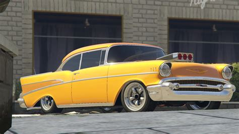 Chevrolet Bel Air by 1957 Chevrolet Bel Air Sport Coupe Tuning Gta5 Mods