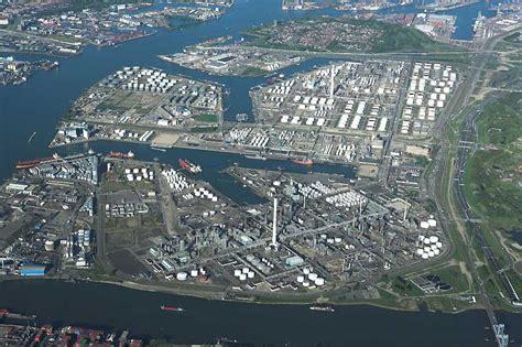 le port de rotterdam port de rotterdam vu de la tour euromast