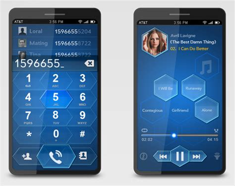 blue mobile phone 10 breathtaking mobile phone concepts you need to see