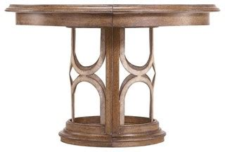 dining table on archipelago monserrat pedestal table transitional 6717