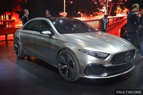 Gallery Mercedes Benz Concept A Sedan Up Close