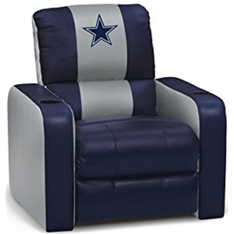 home inside dreamseat dallas cowboys nfl leather recliner
