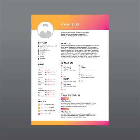 resume background vector corporate resume vector download free vectors clipart