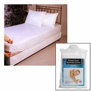 full size bed mattress cover plastic white waterproof bug With bed bug protector full