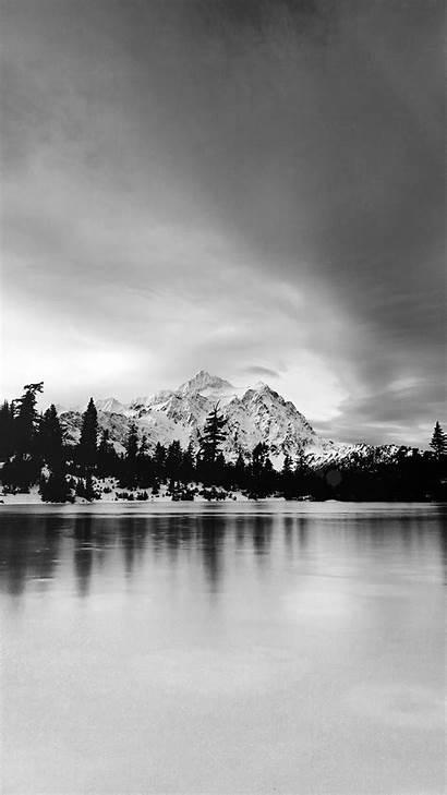 Iphone Wallpapers Winter Plus Lake Dark Frozen