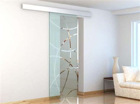 porte vitrée coulissante porte coulissante en applique heidi h205 x l83 cm