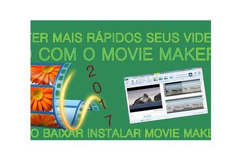 baixar o movie maker de transição para windows