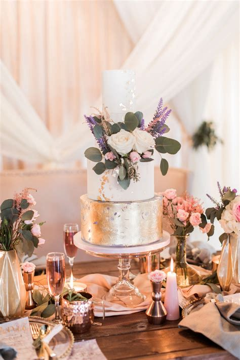 Lavender And Pink Modern Romantic Wedding Ideas Every