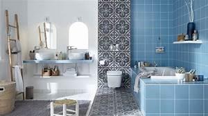 belle salle de bains nos idees cote maison With revetement murs salle de bain