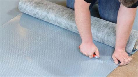 vinylboden mit trittschalldämmung wandverkleidung selbst verarbeiten entdecke die trends