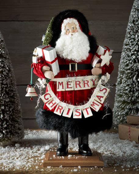 lynn haney christmas greeting santa