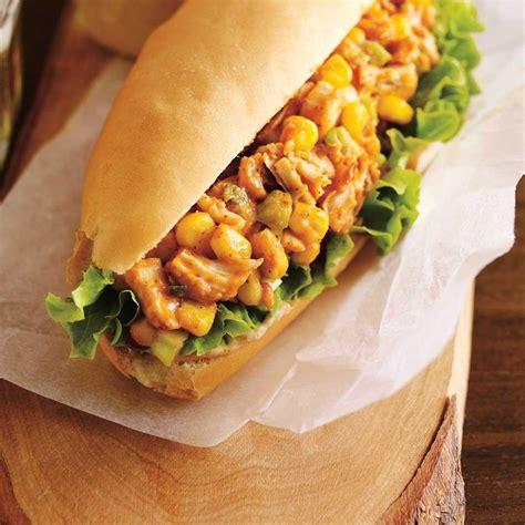 ricardo cuisine noel sandwich au poulet barbecue ricardo